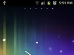 Nexus ICS Minimal Analog Clock 1.0 Screenshot