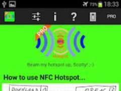 NFC Hotspot PRO 1.3 Screenshot
