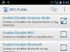 NFC Profile 2.2 Screenshot