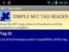 NFC Tag reader 1.2 Screenshot