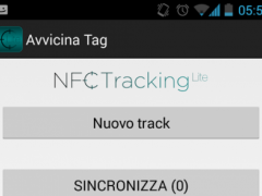 NFC Tracking Lite 1.4 Screenshot