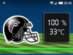 NFL Battery Widget 1.2 Screenshot