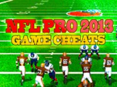NFL Pro 2013 Top Cheats 1.02 Screenshot