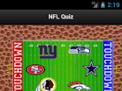 NFL Quiz 1.0 Screenshot