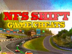 NFS Shift Top Cheats 1.02 Screenshot