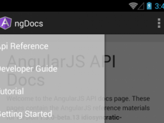 ngDocs - AngularJS Reference 4 Screenshot