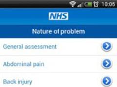 NHS Health and Symptom checker 2.0.8 Screenshot