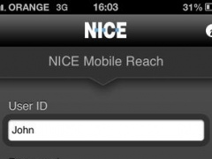 NICE Mobile Reach Support 1.0 Screenshot