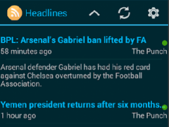 Nigerian Newsline 1.0 Screenshot