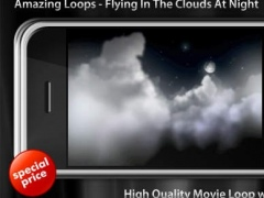 Night Clouds Flying 2.0 Screenshot