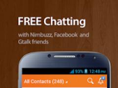 Nimbuzz Messenger / Free Calls  Screenshot