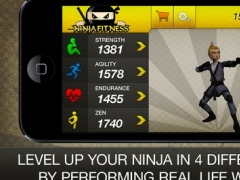 Ninja Fitness Free: Strength, Running, Yoga and Meditation Workout Program 1.0.8 Screenshot