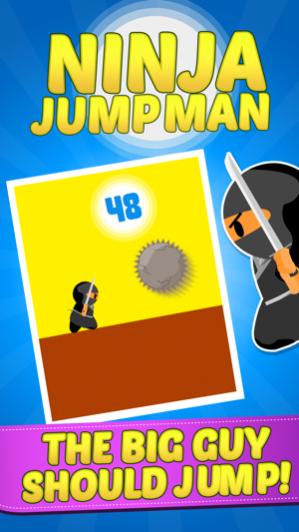 Ninja Jump Man Test Your Reflex Skills Free Download