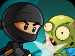 Ninja Kid vs Zombies  Screenshot