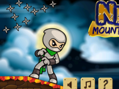Ninja mountain runner 1.0 Screenshot