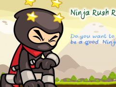 Ninja Rush Run 1.0 Screenshot