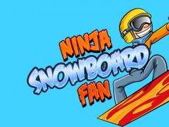 Ninja Snowboard Fan 1.0 Screenshot