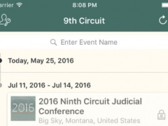 Ninth Circuit Conference 1.2 Screenshot