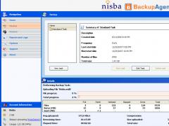 Nisba BackupAgent 20GB subscription 3.13.1.1 Screenshot