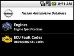 Nissan Automotive Database 0.2 Screenshot