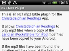 NLT MP3 Plugin 0.9.0 Screenshot