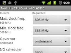 No-frills CPU Control CLASSIC 1.28.2 Screenshot