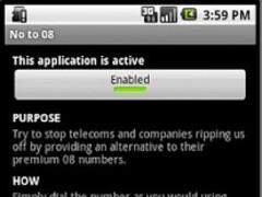 No to 08 numbers 0870 0845 1.0 Screenshot