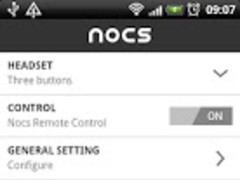 Nocs Remote Control™ 1.0.1 Screenshot
