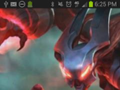Nocturne League of Legends LWP 1 Screenshot