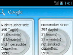 Nonsmoker Counter 1.1 Screenshot