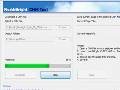 NorthBright CHM Tool 1.0.1.523 Screenshot