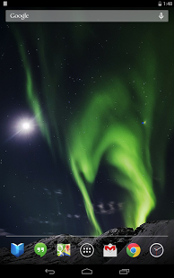 Northern Lights Live Wallpaper 3600 Free Download