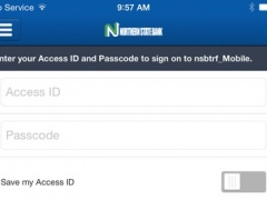 Northern State Bank - nsbtrf_Mobile 3.5.0 Screenshot