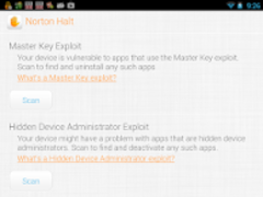Norton Halt exploit defender 6.4.0.236 Screenshot