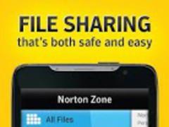 Norton Zone cloud sharing 1.1.0.10 Screenshot