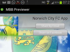 Norwich City FC Mobi 1.0 Screenshot