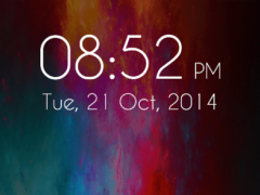 Note 4 LockScreen HD 1.0 Screenshot