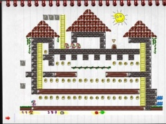 Notebook City - Cool LodeRunner for Kids 1.1 Screenshot