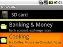 NoteCastle 1.03 Screenshot