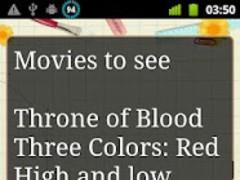 Notepadus Widget Full Free 1.02 Screenshot