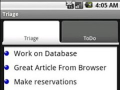 Notes/Todo Triage 1.0 Screenshot