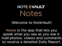 NoteVault Notes!  Screenshot