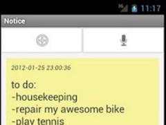 Notice 1.0.0 Screenshot