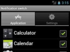 Notification switch 2.1 Screenshot