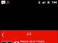 Notify - WP7 Red Theme 1.3 Screenshot