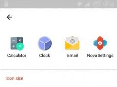 Review Screenshot - Launcher App – Customization Options Galore