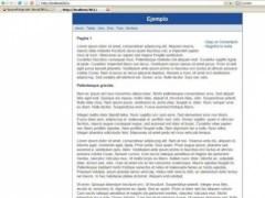 NovaCMS Light 1.0b Screenshot