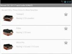 Novak ESC 2013 Track guide DON 4.6 Screenshot