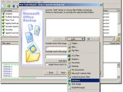 Novosoft Office Backup 3.3.7 Screenshot