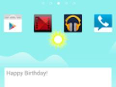 Now GO Launcher EX Theme 1.5 Screenshot